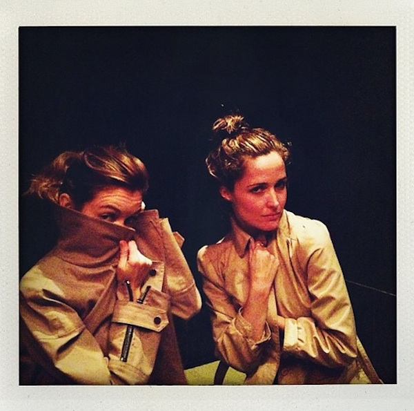 Nora Zehetner and Rose Byrne Have a Spy-Off