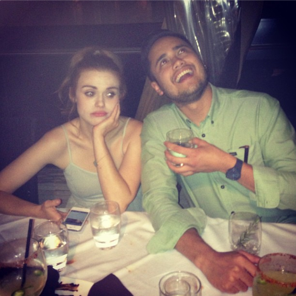 Holland Roden's Depressing Date