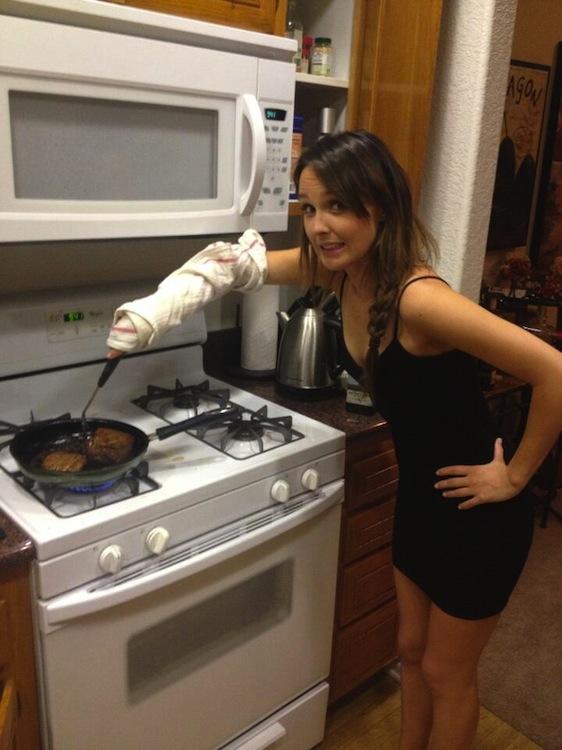 Camilla Luddington vs Steak