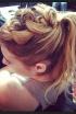 Emma Roberts' Intricate Updo