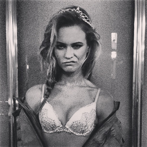 Behati Prinsloo's Late Night Lingerie Party