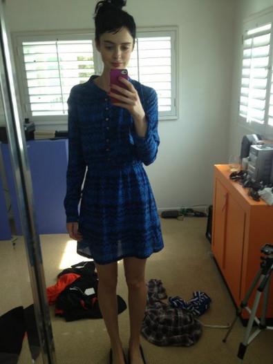 Krysten Ritter's Boyfriend-Approved Wren Dress