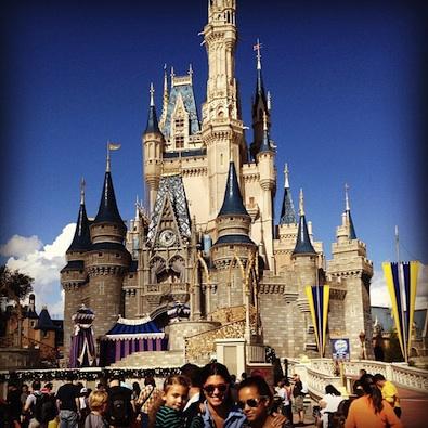 Rachel Roy at Disneyland