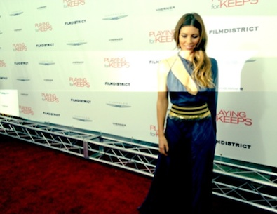 Jessica Biel is Obsessed with her Versace Gown