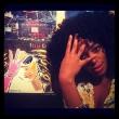 Solange Knowles Strikes a Chaka Kahn Pose