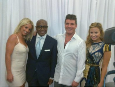 Britney Spears Joins The X-Factor Judges