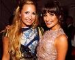 Lea Michele Meets Demi Lovato