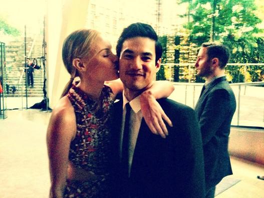 Kate Bosworth and Joseph Altuzarra