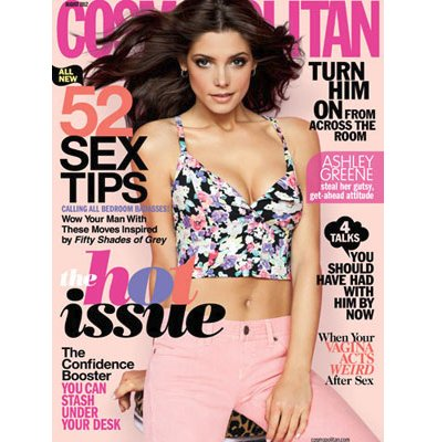 Ashley Greene covers Cosmo