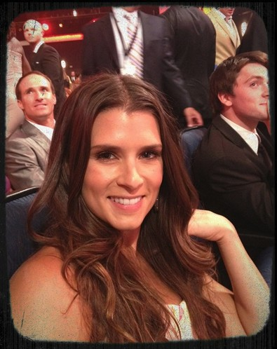 Danica Patrick at the ESPY's