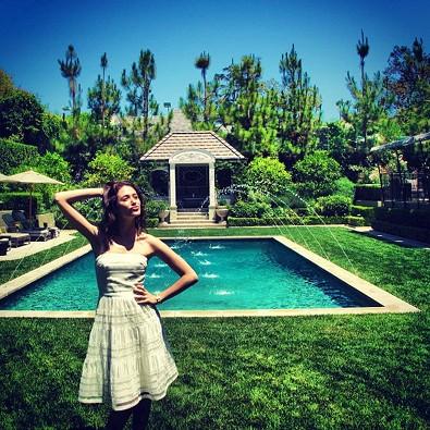 Emmy Rossum's Garden Party