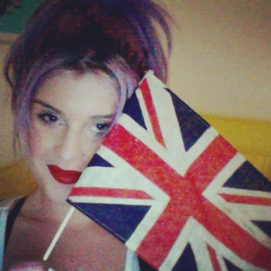 Kelly Osbourne Represents Team UK
