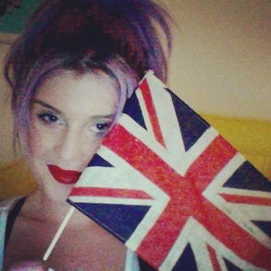 Kelly Osbourne Represents Team UK