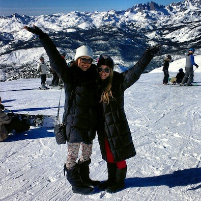 Camilla Belle on Top of the World