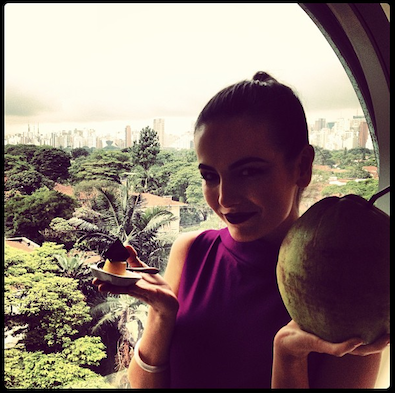 Camilla Belle Relives Memories in Brazil
