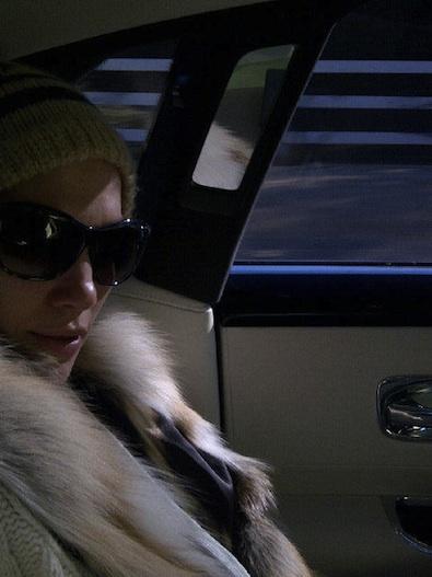 Jennifer Lopez on the School Run