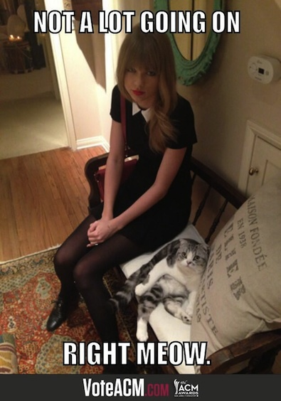 Not a Lot Going on for Taylor Swift