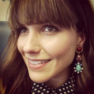 Sophia Bush Is All About Her Dannijo Earrings