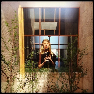 Brit Marling at the Barnes Foundation