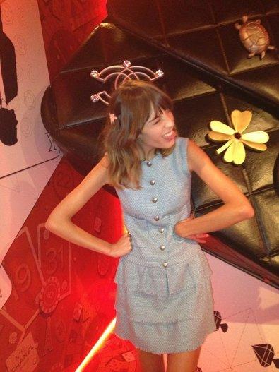 Alexa Chung at the Chanel Installation
