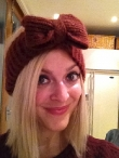 Fearne Cotton Tries the Headband Trend