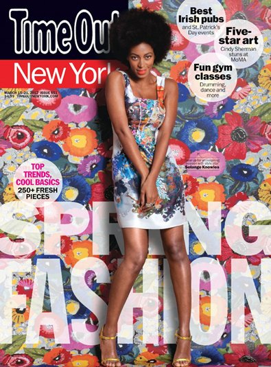 Solange Knowles on the Cover of Time Out