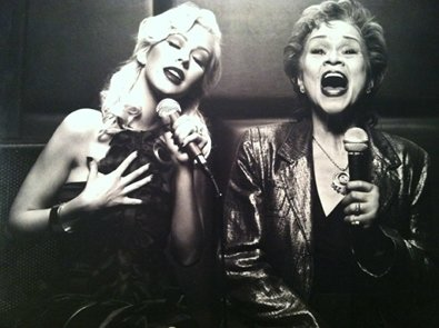 Christina Aguilera Remembers Etta James