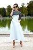 Strapless Dresses Over Long Sleeves (at Paris Fashion Week)
