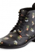 Floral Print Boots