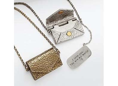 Personalizable Vintage Love Letter Necklace