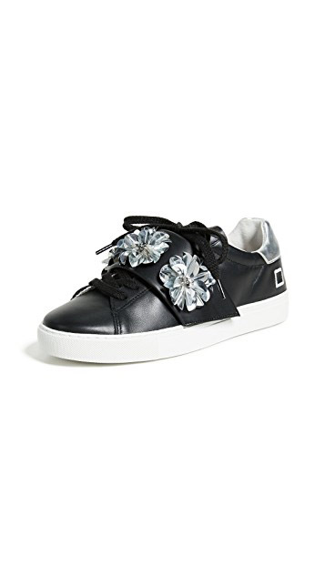 D.A.T.E.  Velcro Sneakers Are the Latest 'Ugly' Shoes to Be Embraced By the Fashion Set date newman black strap sneakers