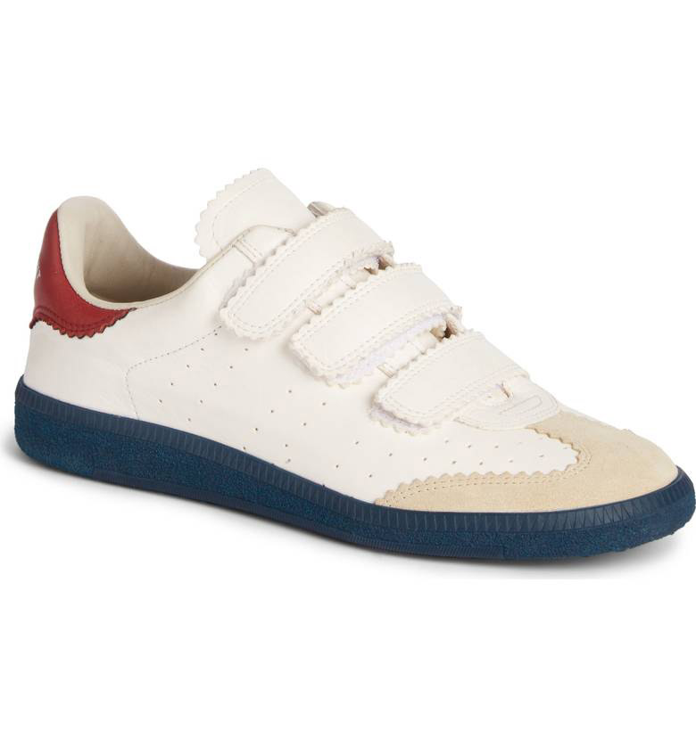 Isabel Marant  Velcro Sneakers Are the Latest 'Ugly' Shoes to Be Embraced By the Fashion Set isabel marant beth sneakers