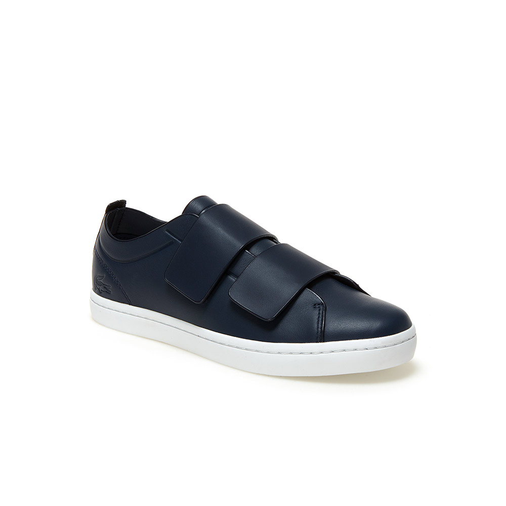 Lacoste  Velcro Sneakers Are the Latest 'Ugly' Shoes to Be Embraced By the Fashion Set lacoste straightset leather sneakers