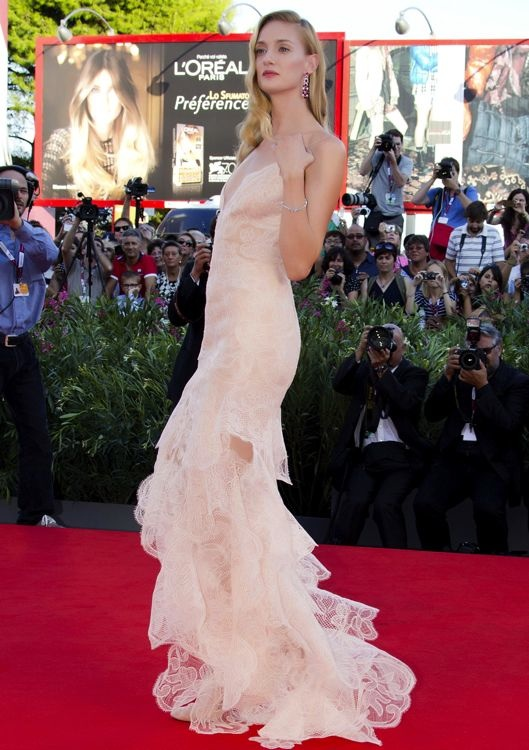 Eva Riccobono at the Opening Ceremony and Premiere of Gravity