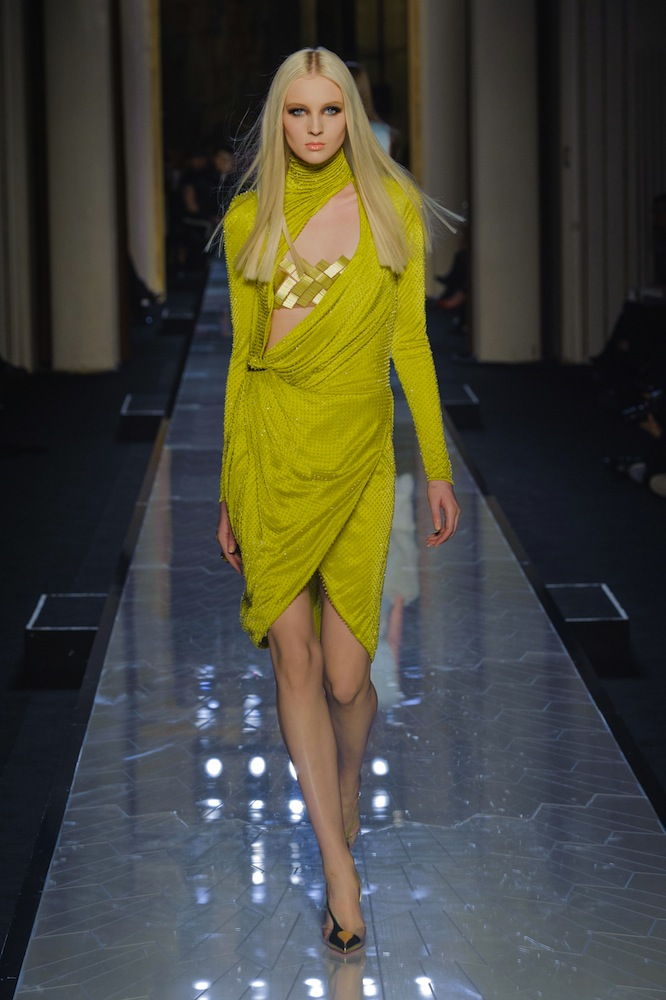 Versace Haute Couture Spring 2014