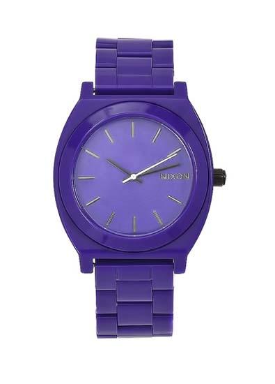 Nixon Womens Time Teller Acetate Watch