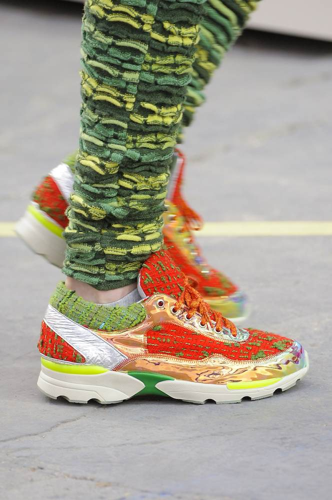 Sneaker Attack at Chanel