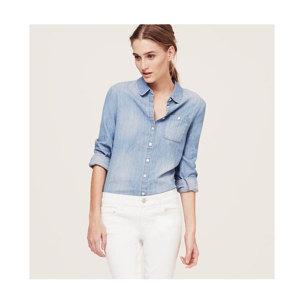Chambray Button Up: