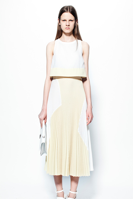 Pleated Skirt at Proenza Schouler