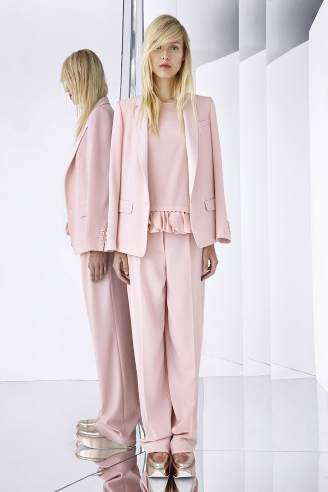 DKNY'S Pink Suit
