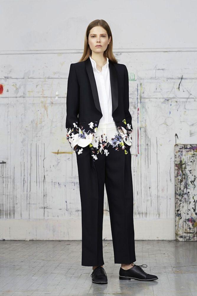 Erdem's Floral Blazer