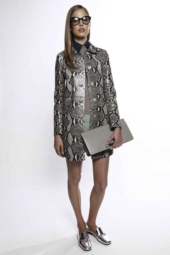 Gucci's Snakeskin Coat
