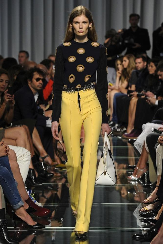 Louis Vuitton's High Waisted Pants