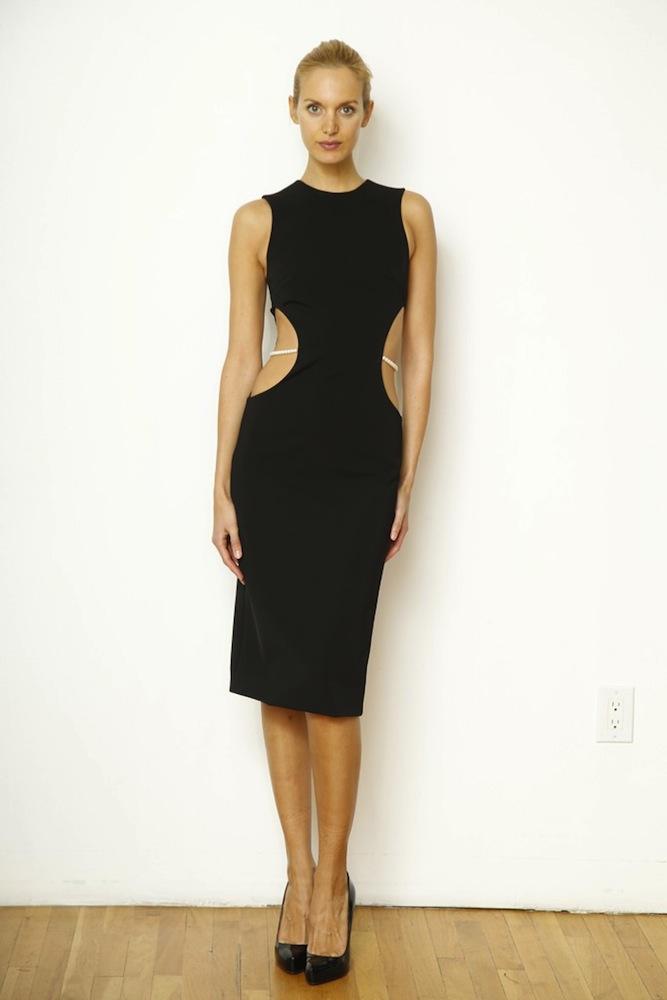 Cushnie Et Ochs' Cut Out Dress