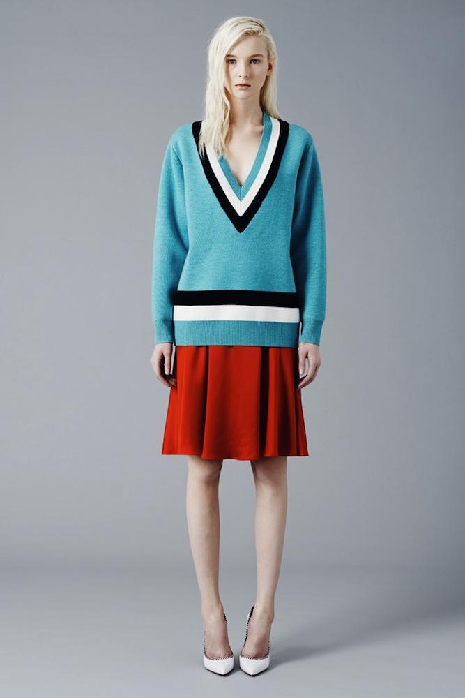 Jonathan Saunders' Tennis Sweater