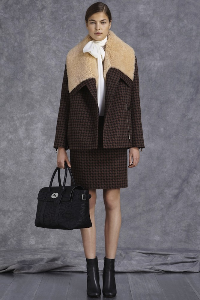 Mulberry's Houndstooth Jacket