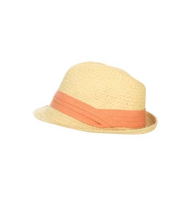 Arden B. Pleated Band Fedora
