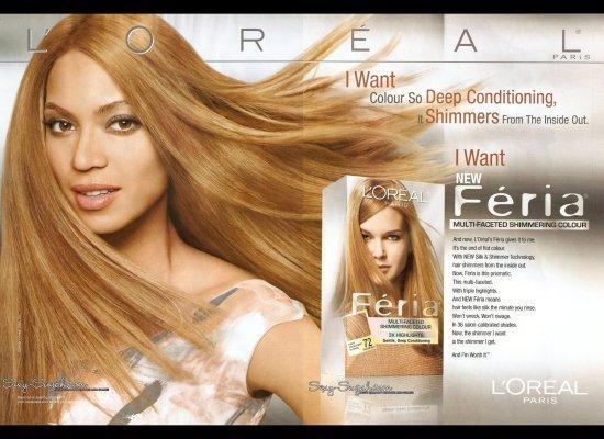 Beyoncé for L'Oréal