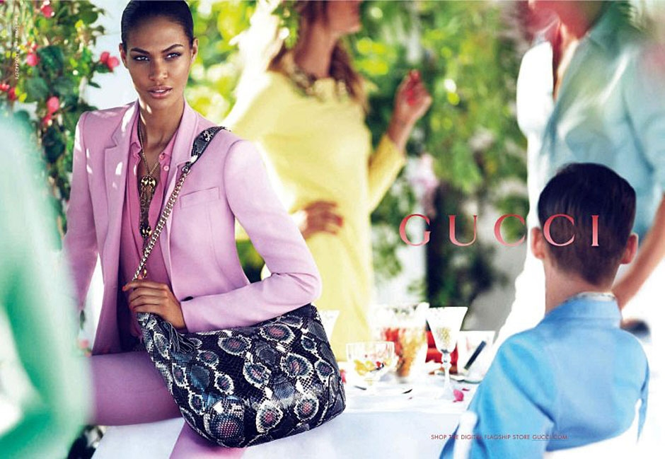 Joan Smalls for Gucci