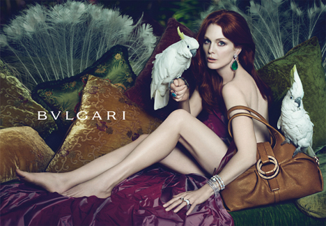 Julianne Moore for Bulgari